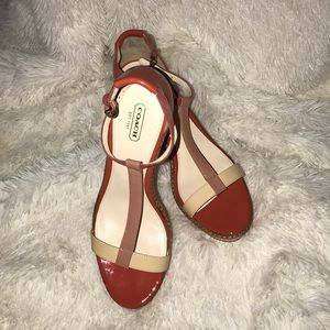 Coach Wedges Size 10